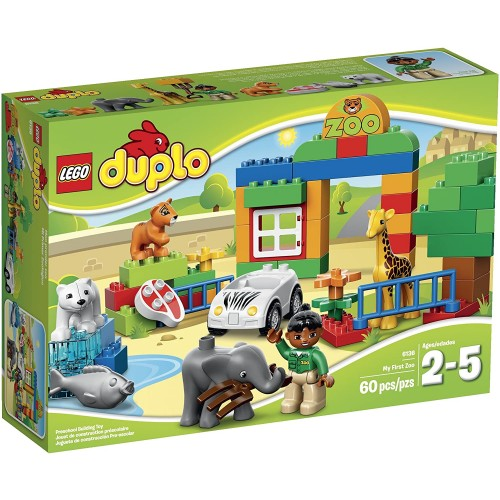 Lego Duplo Town 6136 My First Zoo Building