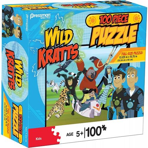 Pressman 1079506 Wild Kratts Puzzle In Box 100 Piece 5