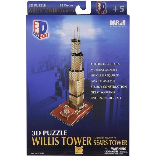 Daron Willis Tower 3D Puzzle