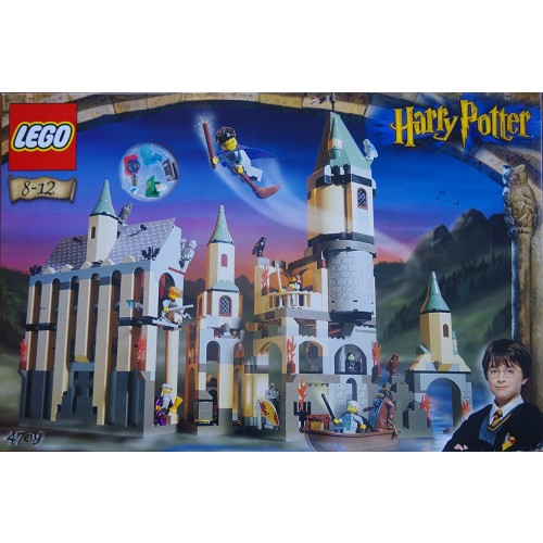 Lego Stone 4709 Hogwarts Castle Genuine Domestic And The Sorcerers Harry