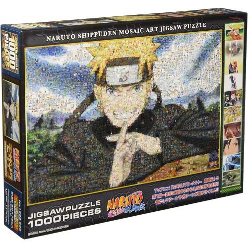 Naruto Shippuden 1000 Piece Narutonaruto Mosaic Art