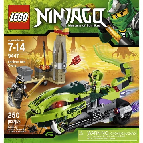Lego Ninjago 9447 Lashas Bite