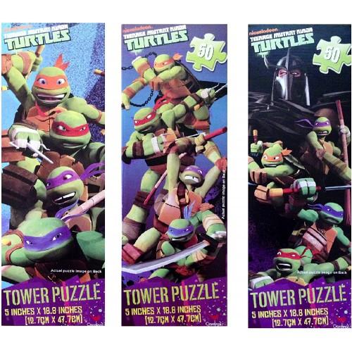 Upd Teenage Mutant Ninja Turtles Tower Puzzles 1 Puzzle Assorted