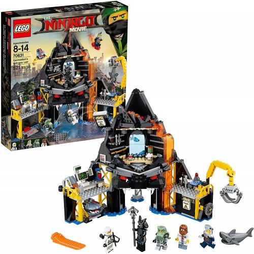 Lego Ninjago Movie Garmadons Volcano Lair