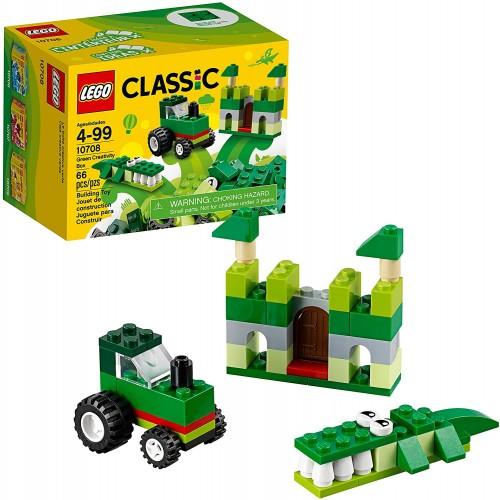 Lego Classic Green Creativity Box 10708 Building