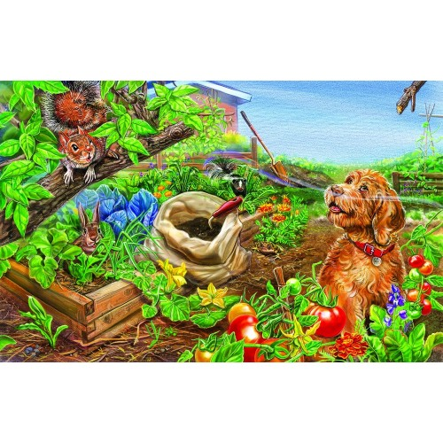 Wild Thing 100 Pc Jigsaw Puzzle By