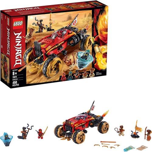 Lego Ninjago Katana 4×4 70675 Building Kit 450