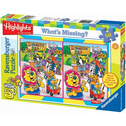 Ravensburger Highlights Lemonade Stand 60 Piece Whats Missing