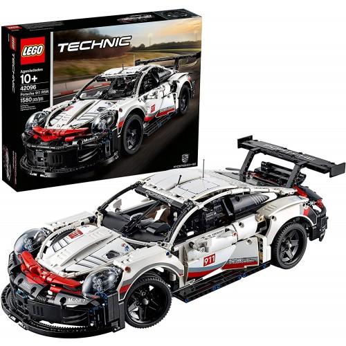 Lego Technic Porsche 911 Rsr 42096 Race Car Building Set Stem Toy Ages 10 Features Model
