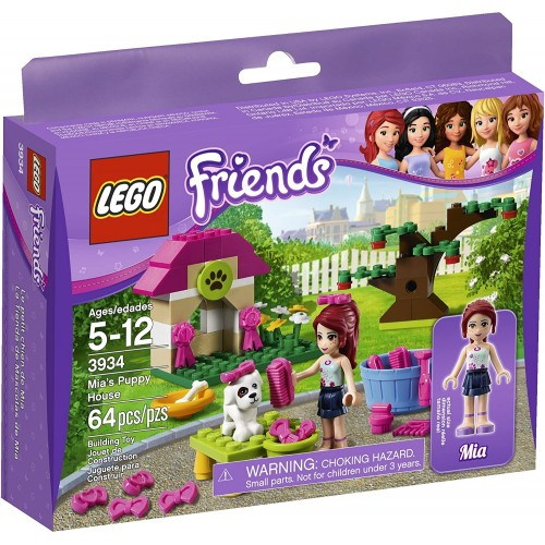 Lego Friends Mias Puppy House