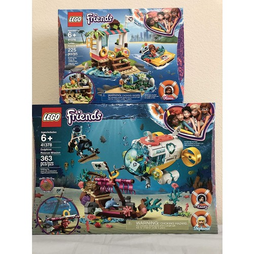 Lego Friends Dolphins Rescue Mission Bundled Turtles