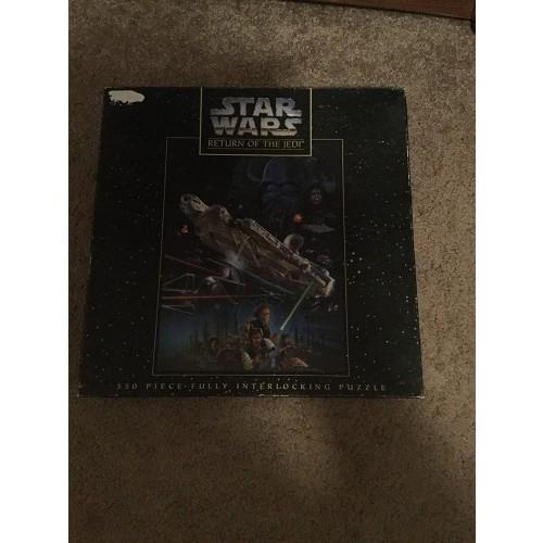 Star Wars Return Of The Jedi 550 Pieces Fully Interlocking