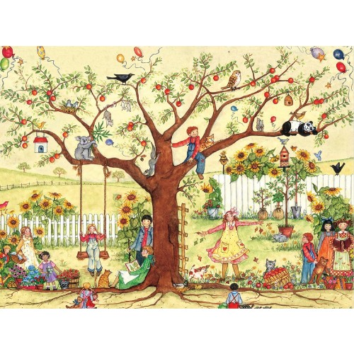 Ceaco Ellen Stouffer Jigsaw Puzzle Growing Together 1000