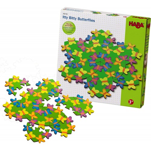Haba Itty Bitty Butterflies A Challenging Wooden Puzzle For Ages 3 And