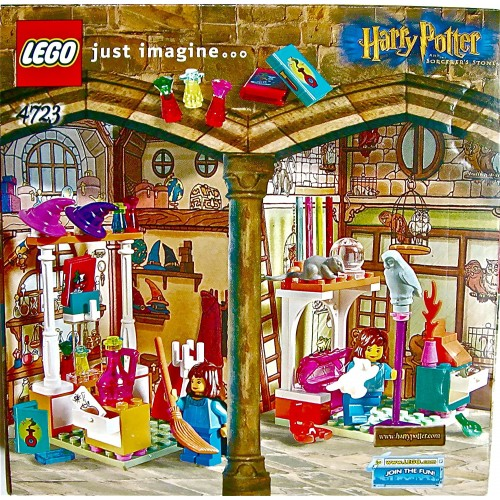 Lego Harry Potter And The Sorcerers Stone 4723 Diagon Alley