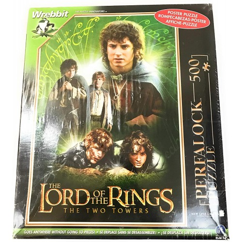 The Lord Of Rings Two Towers Frodo And Sam Perfalock Movie Poster Puzzle 500
