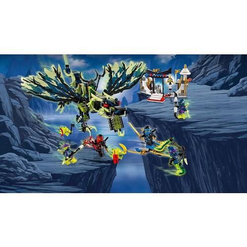 Lego Ninjago 70736 Attack Of The Morro Dragon Masters Spinjitzu