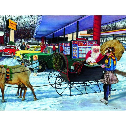 Pit Stop 300 Pc Jigsaw Puzzle By