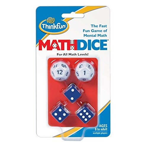 ThinkFun Math Dice Fun Game
