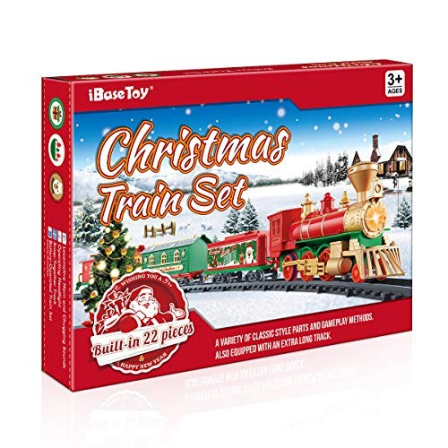 Toy Christmas Train Set for Kids