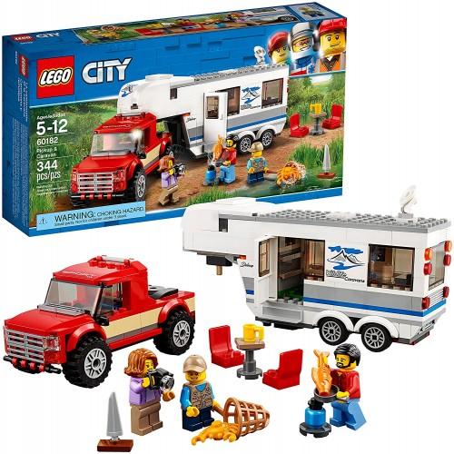 Lego City Pickup Caravan 60182 Building Kit 344