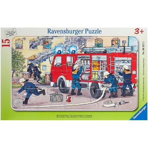 Ravensburger Fireman Car Jigsaw Puzzle 15