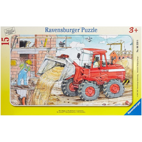 Ravensburger My Excavator Jigsaw Puzzle 15