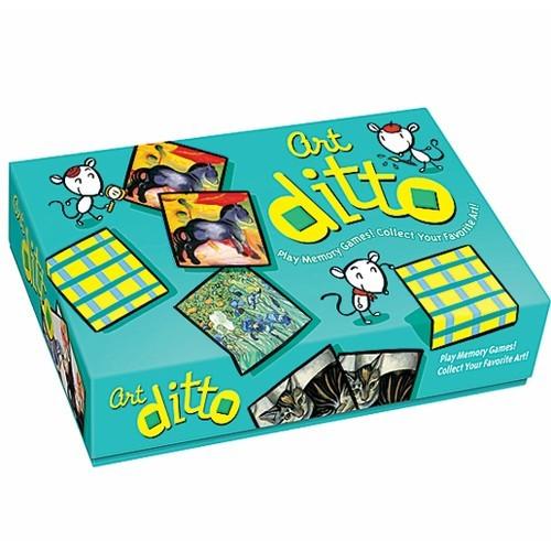 Art Ditto Memory Game