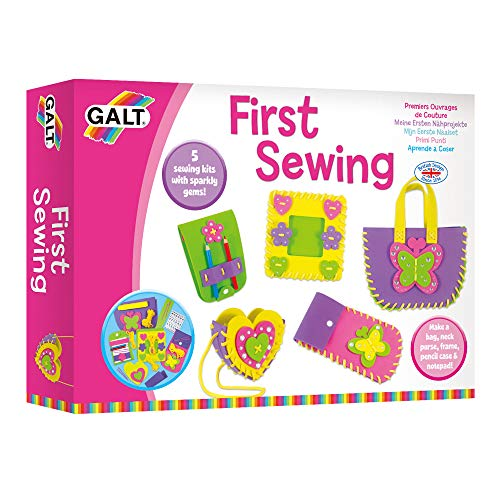 Galt Toys First Sewing Kit for Kids Learn to Sew DIY Craft Ages 5+