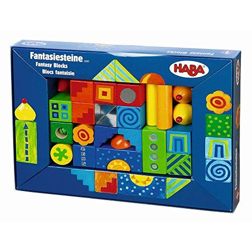 HABA Fantasy Blocks – 26 Piece Set for Ages 18 Months and Up Made in Germany