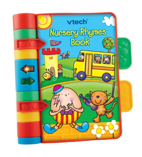 VTech Baby Nursery Rhymes Book – Multi-Colour