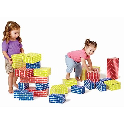 Edushape 709084 Corrugated Blocks Set of 84