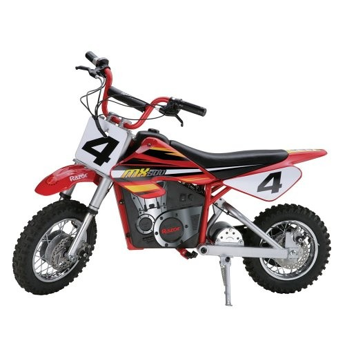 Razor MX500 Dirt Rocket Adult & Teen Ride On High-Torque Electric Motocross Motorcycle Dirt