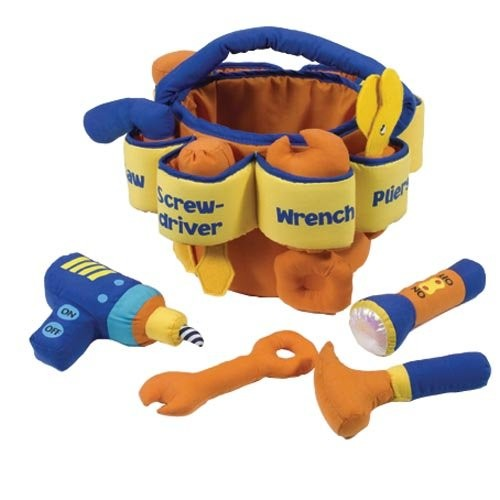 Kaplan Early Learning Company Toddler's Soft Tool Set