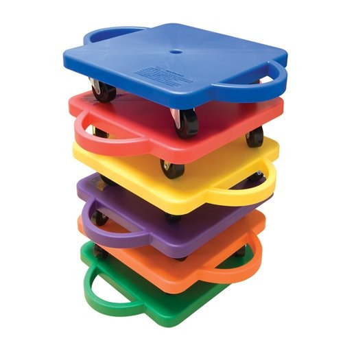 SCOOTER BOARD PACKAGE (SET OF 6)