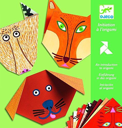 DJECO Animals Origami Paper Craft Kit Level 1