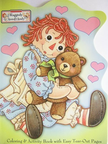 Paradise Press Raggedy Ann & Andy Coloring Activity Book