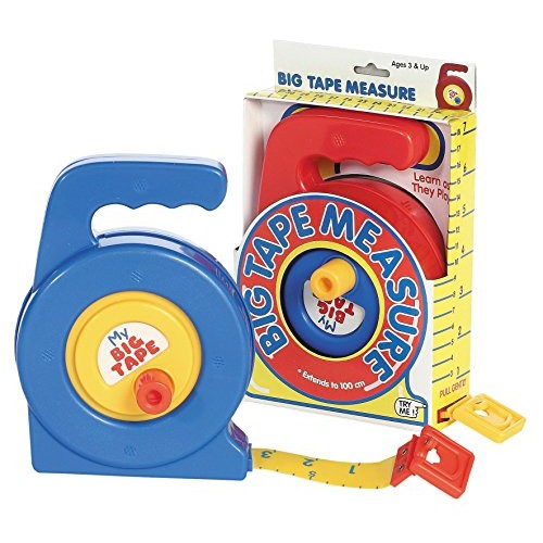 Castle Toy My First Big Measure Tape