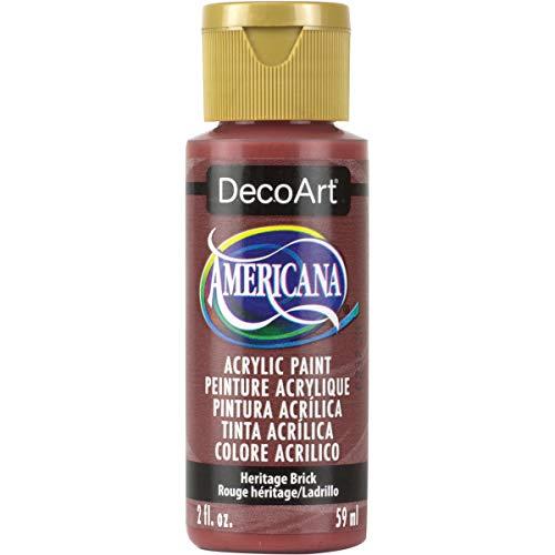 Americana Acrylic Paint 2oz-Heritage Brick – Opaque