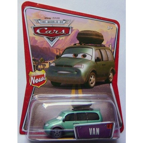 Mattel World of Cars and gt; #61 Van Vehicle
