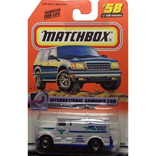Matchbox 1999 #58 International Armored Car #58 of 100 1:64 Scale