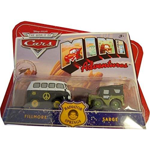 DISNEY CARS Mini Radiator Sprin – Fillmore & Sarge
