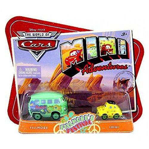 Cars Disney Pixar Mini Adventures Fillmore's Festival-Fillmore and Luigi