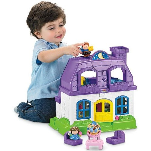 Fisher-Price Little People Happy Sounds Home
