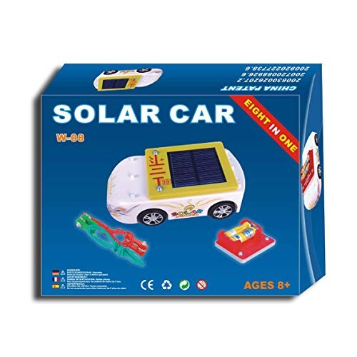 Solar Wholesale 5001 Car and AA Battery Charger Educational Kit Kids 5+ Snap on Design