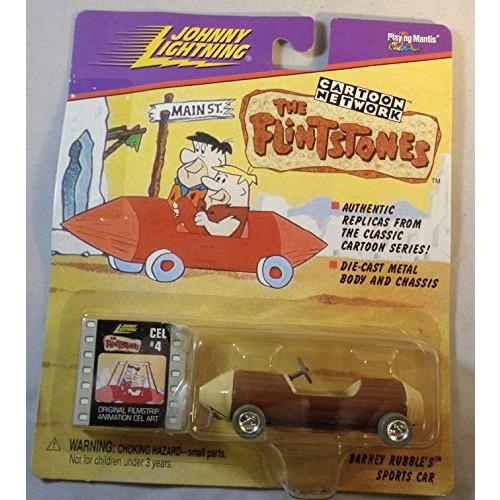 JOHNNY LIGHTNING CARTOON NETWORK THE FLINSTONES BARNEY RUBBLE'S SPORTS CAR