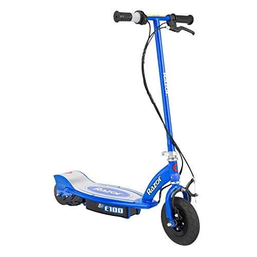 Razor E100 Kids Ride On 24V Motorized Battery Powered Electric Scooter Toy Speeds Up
