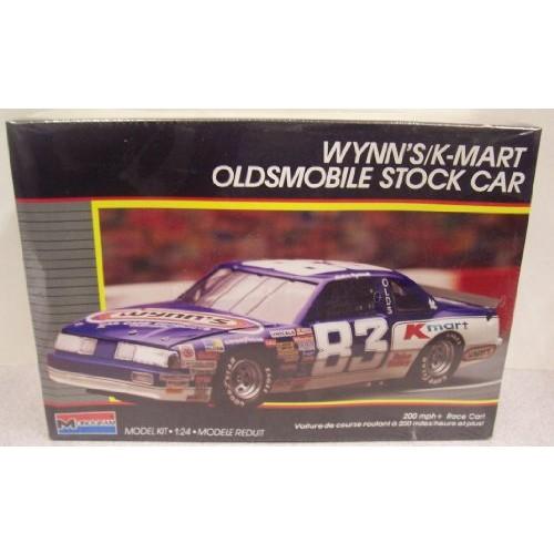 Monogram #2779 Lake Speed Wynn's/K-Mart Oldsmobile Stock Car 1/24 Scale Plastic Model Kit