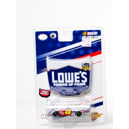 Jimmie Johnson #48 Lowes Power of Pride American Heroes Memorial Day 2007 Red White