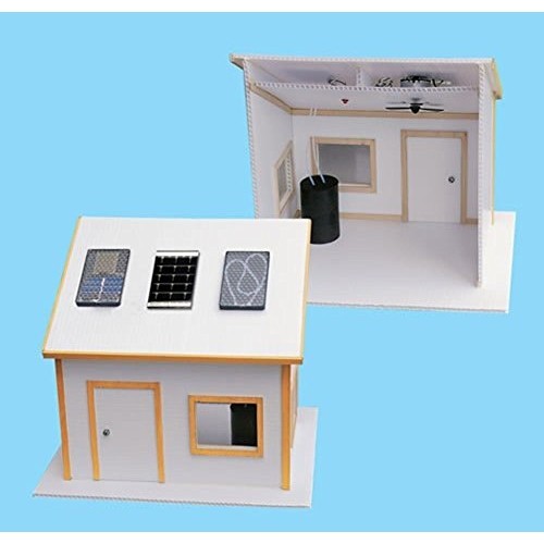 Solar Made Electric House Kit for Science Fair Projects